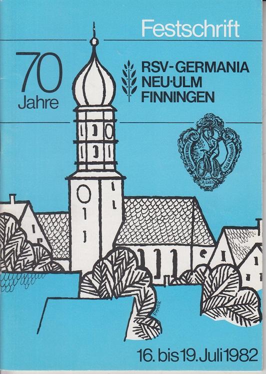 Festschrift 70 Jahre RSV-Germania