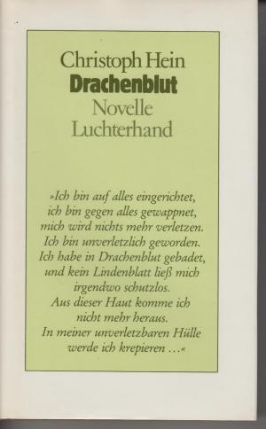 Hein, Christoph Drachenblut: Novelle