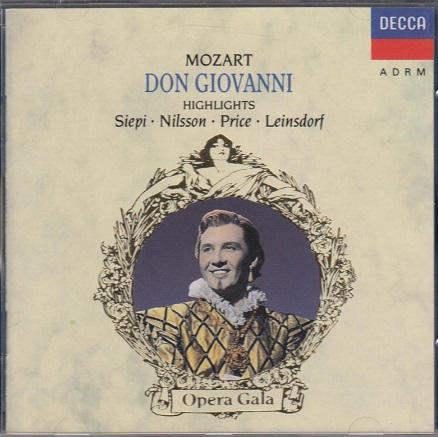 Siepi Nilsson  Price u. a. Mozart:Don Giovanni