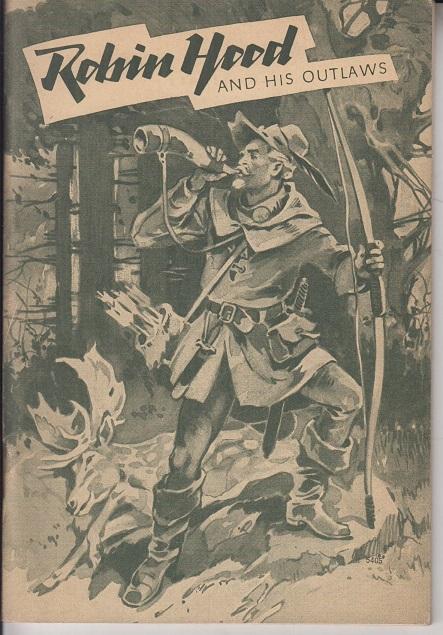 Robin Hood and his outlaws : Retold from the old ballads. Mit 11 Zeichn. von Carl Benedek 4. Aufl.