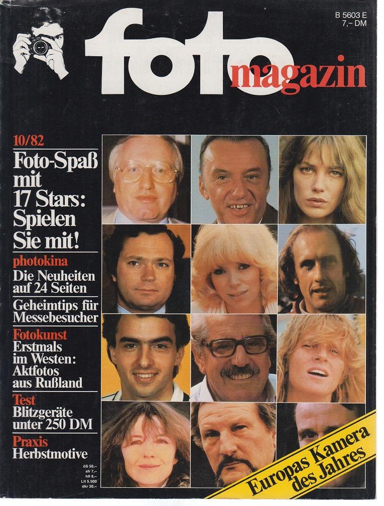 foto Magazin. 10 / 1982. Foto-Spaß mit 17 Stars: Spielen Sie mit!.