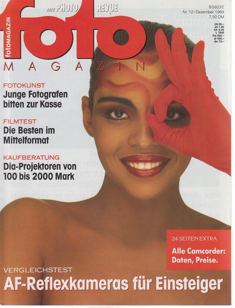 foto Magazin. Nr. 12 / Dezember 1989. AF-Reflexkameras für Einsteiger.