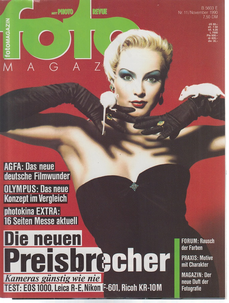 foto Magazin. Nr. 11 / November 1990. Die neuen Preisbrecher.