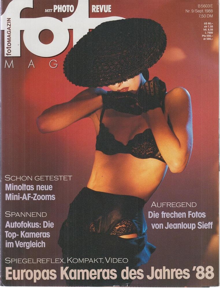 foto Magazin. Nr. 9 / Sept. 1988.