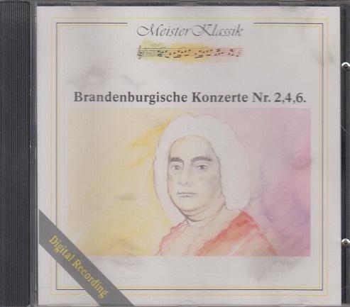 Brandenburgische Konzerte Nr. 2,4,6.