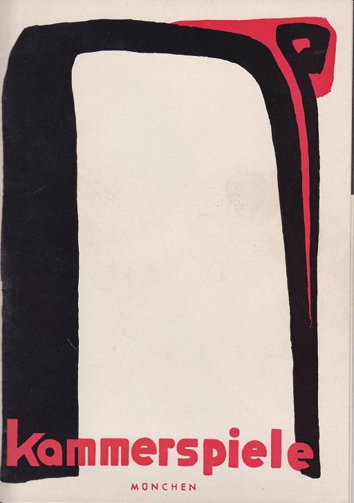 Die Dame von Maxim. Kammerspiele München 59. Spielzeit. 1969/70.