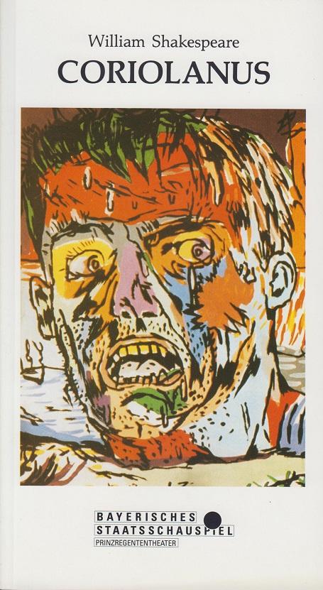 Heft Nr. 74. 1990/91. William Shakespeare. Coriolanus.