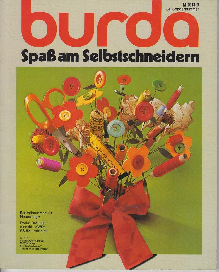 Burda Spaß am Selbstschneidern- 1975 Macht Mode zum Mitmachen