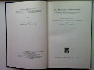 Die Münchener Phänomenologie : Vorträge d. internat. Kongresses in München, 13. - 18. April 1971. Phaenomenologica 65 - Kuhn, Helmut