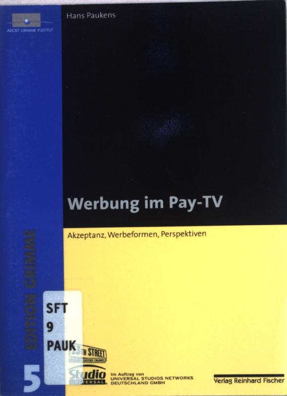 Werbesendung Im Tv