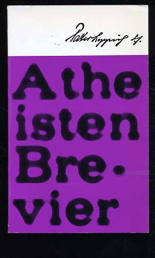 Atheisten-Brevier.