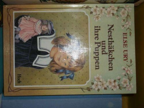 Nesthäkchen und ihre Puppem eine Geschichte für kleine Mädchen von   Else Ury, - Ury, Else