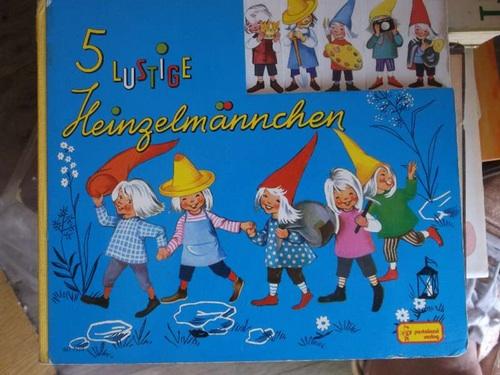 5 lustige Heinzelmännchen     Verse von Marianne Böck-Hartmann mit   Illustrationen von Felicitas Kuhn  2. Auflage - Marianne Böck-Hartmann und Felicitas Kuhn