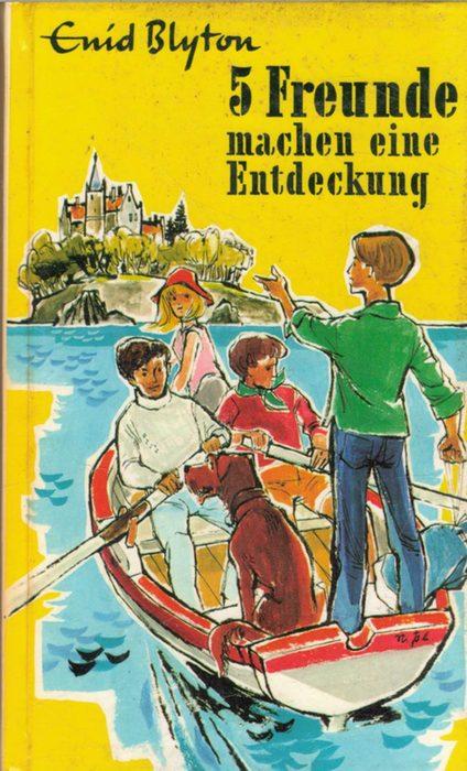 5 Freunde machen eine Entdeckung eine Detektivgeschichte der Abenteuerserie Band 20. von Enid Blyton mit ILlustrationen von Eileen A.Soper - Blyton, Enid