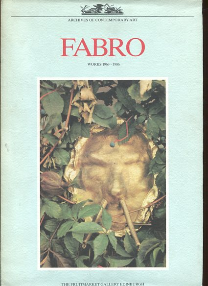 Luciano Fabro - Colour Plates - Works 1963-86. First Edition