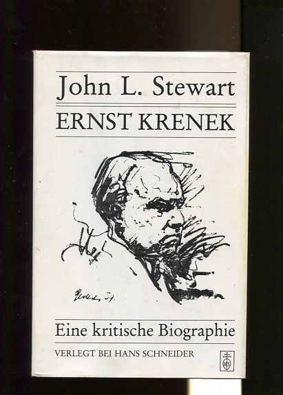 Stewart, John L. und Friedrich Saathen: Ernst Krenek. Eine kritische Biographie. Aus dem Amerikan. übers. und bearb. von Friedrich Saathen, Schriftenreihe zur Musik Band 4. Erstauflage, EA,