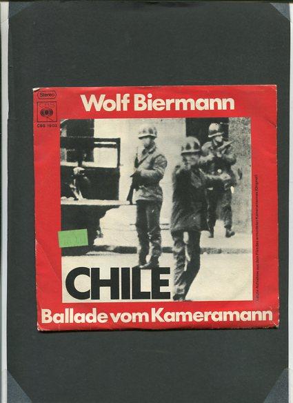 Chile - Ballade vom Kameramann - Comandante Che Guevara - 1 Schallplatte CBS 1903 Erstauflage, EA