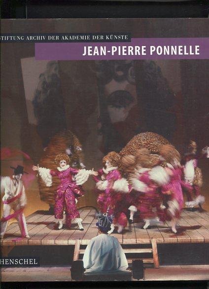 Jean-Pierre Ponnelle 1932 - 1988. anläßlich der Ausstellung - Werkverz. S. 375 - 389. Erstauflage, EA