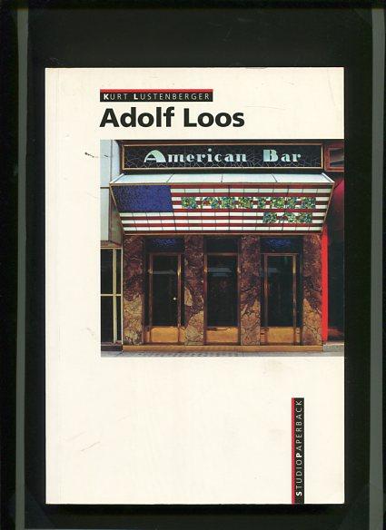 Adolf Loos. Transl. German-Engl.: Ingrid Taylor. Deutsche Erstauflage, EA