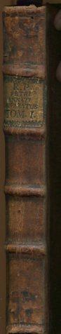 Apparatus Ad Positivam Theologiam Methodicus, In quo jam reviso multùmque deitato, Clara, Brevis, & Expedita Delineatur Idea positivae & scholasticae Theologiae, Scripturae sacrae, Traditionis divinae, . Tomus Primus. Erstauflage, EA