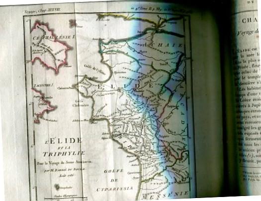 Voyage du Jeune Anarcharsis en Grèce - Dans le Milieu du Quatrime Siecle avant L´ere - Tome II. - second. Erstauflage, EA