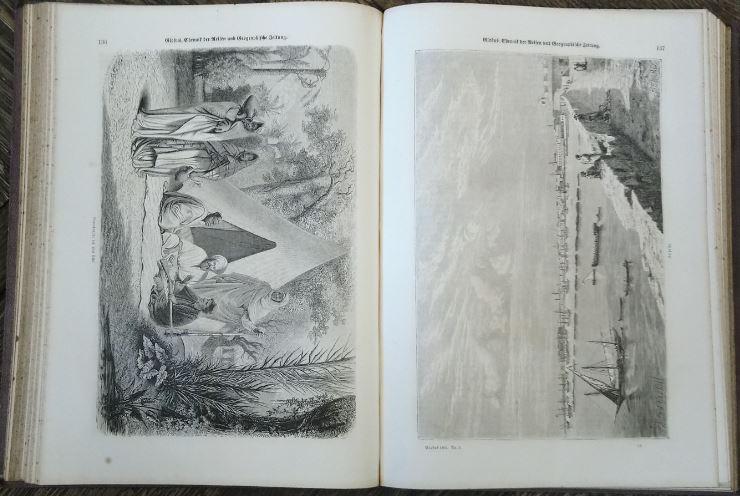 Globus - illustrirte [illustrierte] Zeitschrift für Länder- und Völkerkunde - 1862. Chronik der Reisen und Geographischen Zeitung. Erstauflage, EA