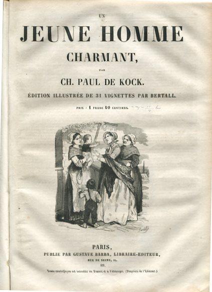 Frère Jacques - Jeune Homme Charmant - Soeur Anne - 3 Bände in einem Buch. Edition illustree de 31, 31 und 37 Vignettes par Bertall. Erstauflage, EA