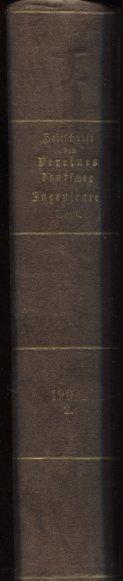Zeitschrift des Vereines Deutscher Ingenieure. 48. Jahrgang, 1904 - Zweites Halbjahr. Nr. 27, 2 Juli 1904 - Nr. 53, 31, Dezember 1904. Erstauflage, EA