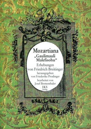 Breitinger, Friedrich: Mozartiana