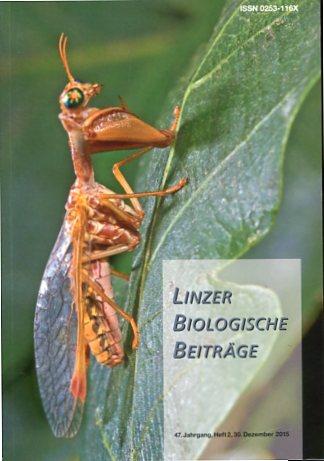 Linzer Biologische Beiträge - 47. Jahrgang Heft 2. Erstauflage, EA