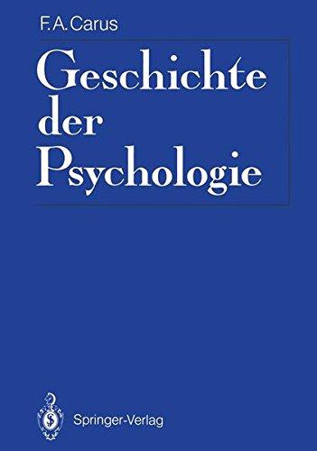 Geschichte der Psychologie. Psychologie-Reprint,  eingel. von Rolf Jeschonnek. Reprintausg. der Ausg. Leipzig, Barth, 1808.