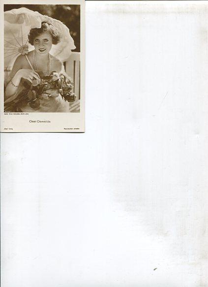 Ohne Autorenangabe: Ossi Oswald - 15 Ross Portrait-Postkarten. Erstauflage, EA