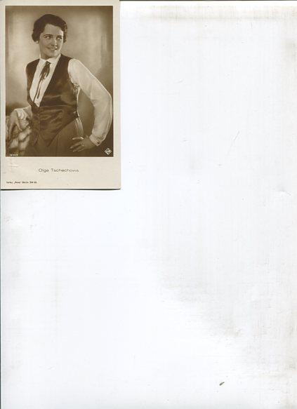 Ohne Autorenangabe: Olga Tschechowa - 15 Ross Portrait-Postkarten. Erstauflage, EA