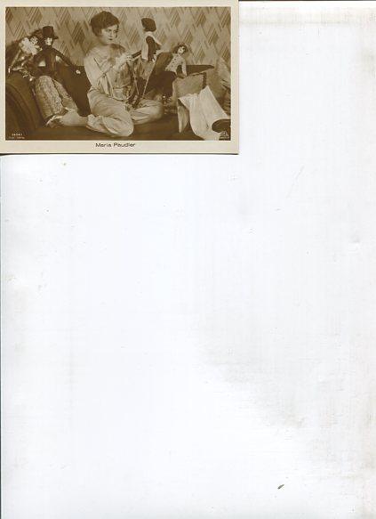 Ohne Autorenangabe: Maria Paugler - 8 Ross Portrait-Postkarten. Erstauflage, EA