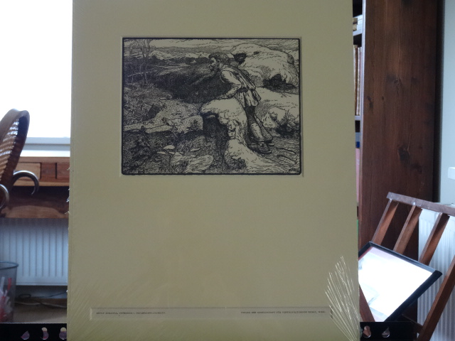 Rübezahl, Holzschnitt Erstauflage, EA.