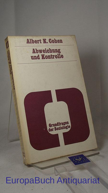 Abweichung und Kontrolle. Grundfragen der Soziologie Band 7. Aus dem Amerikanischen von Peter Müller und Anne Müller-Krefting. Redaktion : Wolf Lepenies. 2. Auflage 1970,