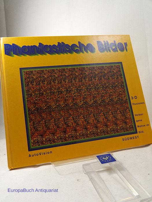 Phantastische Bilder 3-D-Illusionen. Verborgene Motive om Bild.