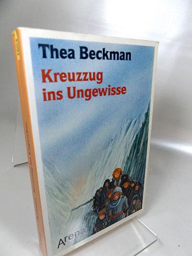 Kreuzzug ins Ungewisse. Aus dem Niederländischen übertragen von Helmut Goeb. Arena-Taschenbuch Band 1604, 1. Auflage 1989,