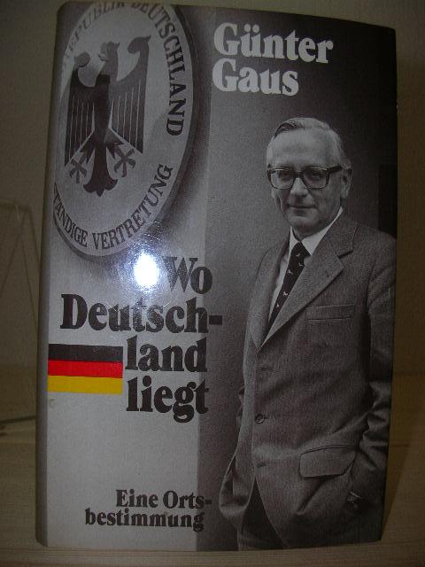Wo Deutschland liegt : eine Ortsbestimmung. Lizensausgabe