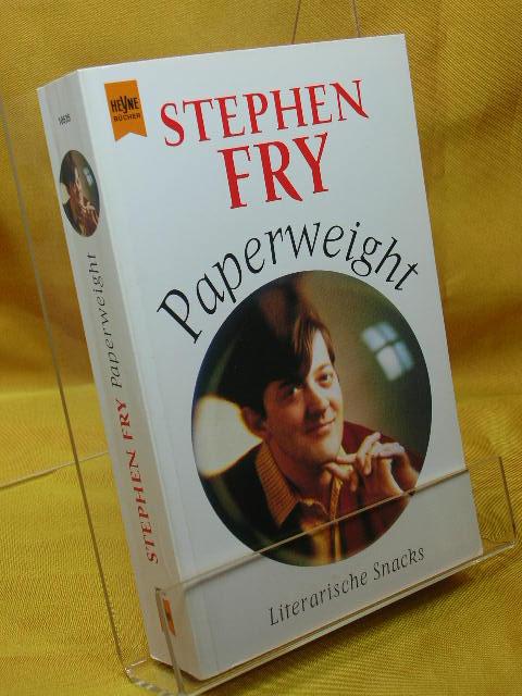 Paperweight : literarische Snacks. Aus dem Engl. von Ulrich Blumenbach, Heyne-Bücher :  01, Allgemeine Reihe Einzig berecht. Taschenbuchausg.