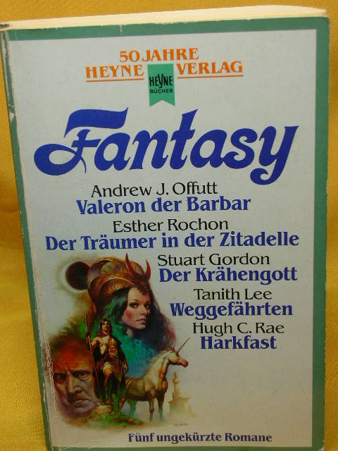 Fantasy : 5 phantastischeRomane in 1 Band hrsg. von , Heyne-Bücher :  50, Heyne-Jubiläumsbände