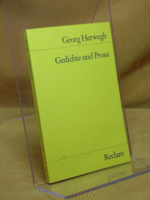 Gedichte und Prosa : Auswahl. Hrsg. von Peter Hasubek, Universal-Bibliothek , Nr. 5341