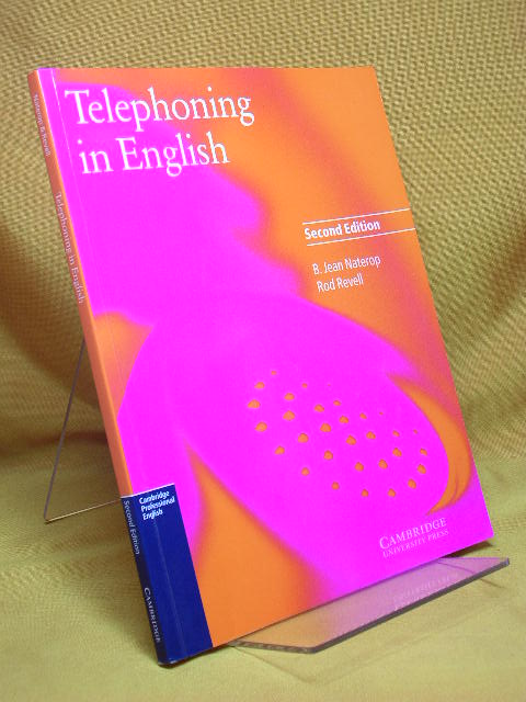 Telephoning in English Coursebook (Cambridge Professional English) second edition 2. Aufl.