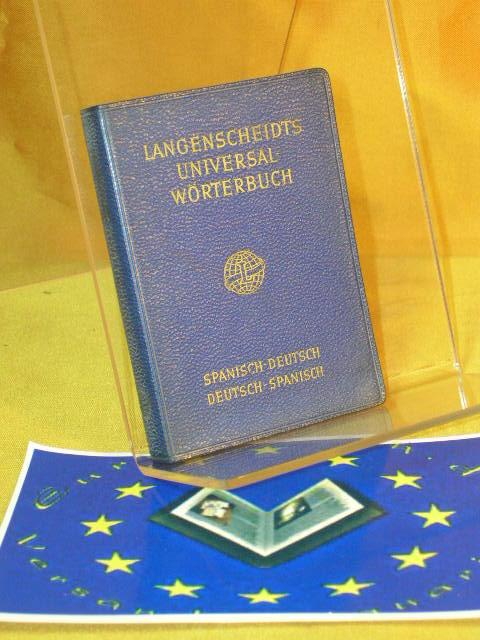 Langenscheidts Universal-Wörterbuch - Spanisch-Deutsch - Deutsch-Spanisch Neubearb., 6. Aufl.