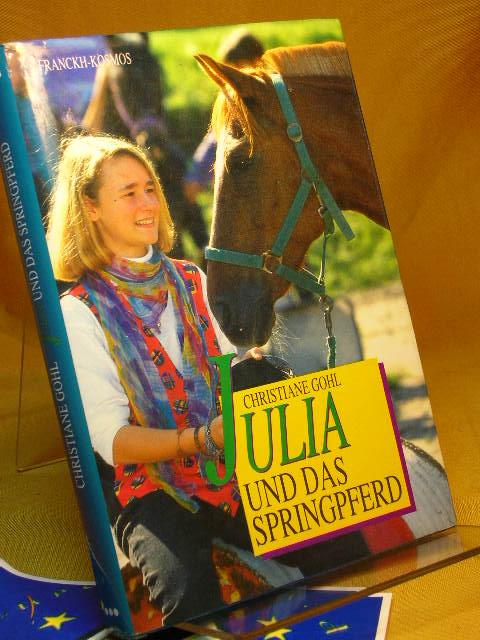 Julia und das Springpferd.