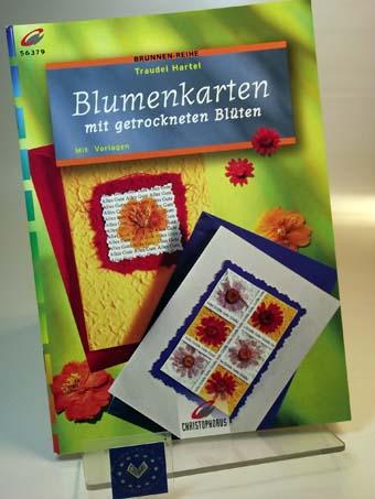 Brunnen-Reihe, Blumenkarten mit getrockneten Blüten