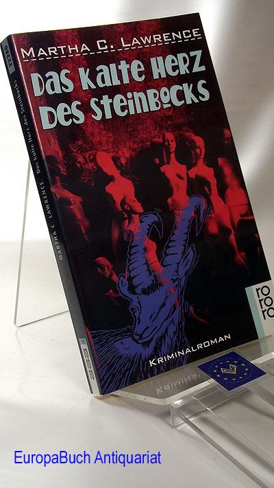 Das kalte Herz des Steinbocks. Kriminalroman Deutsche  Erstausgabe,