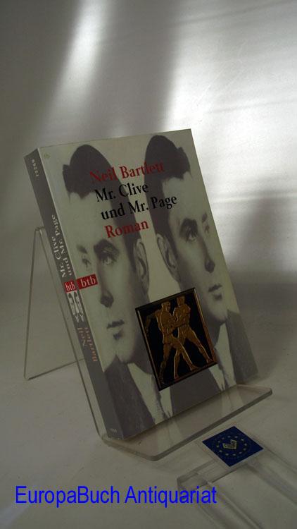 Mr. Clive und Mr. Page : Roman. Aus dem Englischen von Kathrin Razum, Goldmann  72269 : btb Deutsche Erstausgabe, 1. Auflage,