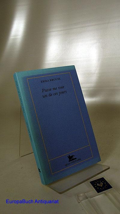 Passe me voir un de ces jours (Quai Voltaire)