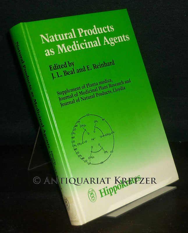 Natural Products as Medicinal Agents. Plenary Lectures of the International Research Congress on Medicinal Plant Research, Strasbourg, July 1980. Supplement of Planta Medica, Journal of Medicinal Plant Research and Journal of Natural Products, Lloydia. [Editors:  J. L. Beal and E. Reinhard].